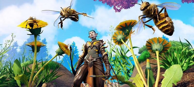 Эпичные сражения с пауками и муравьями в геймплейном трейлере Smalland
