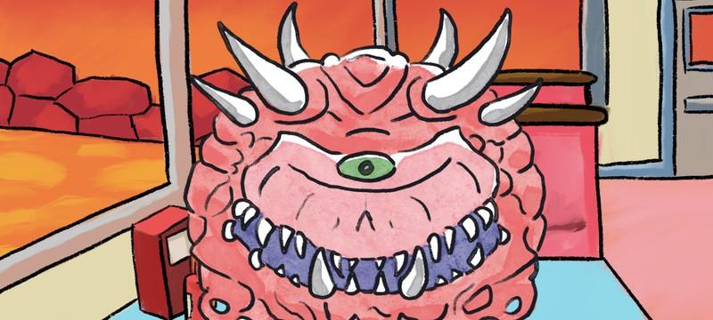 Вышел бесплатный симулятор свиданий демонов вселенной DOOM