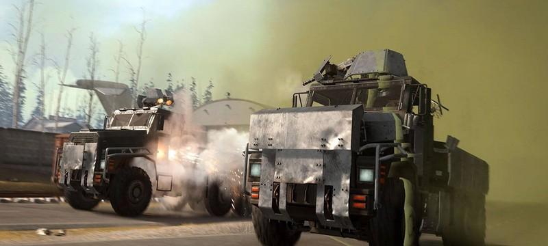 Raven удалила из Warzone бронированные грузовики из-за глитча с невидимостью игроков