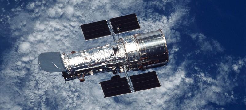 """NASA все еще не может исправить проблему с компьютером телескопа """"Хаббл"""""""