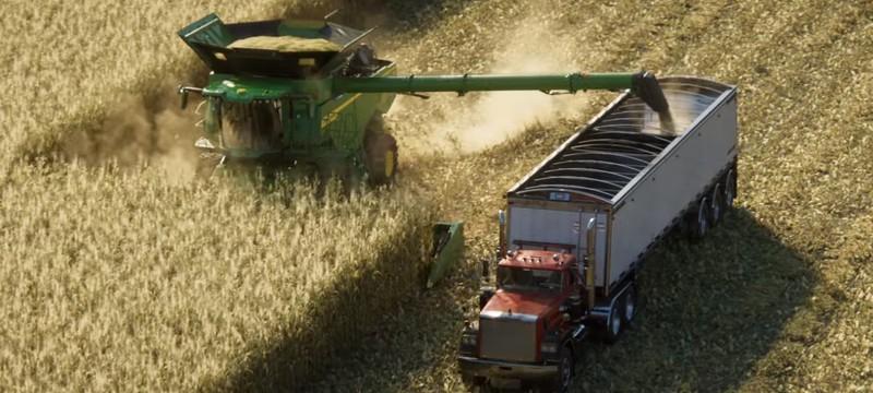 Стильный кинематографический трейлер Farming Simulator 2022