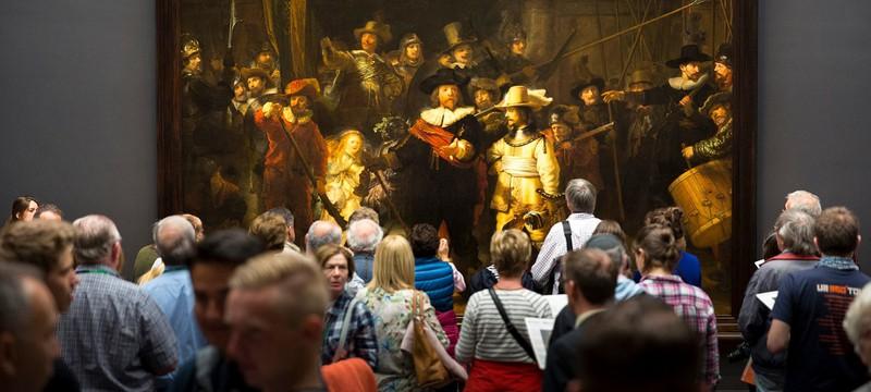 """ИИ помог восстановить картину Рембрандта """"Ночной дозор"""""""