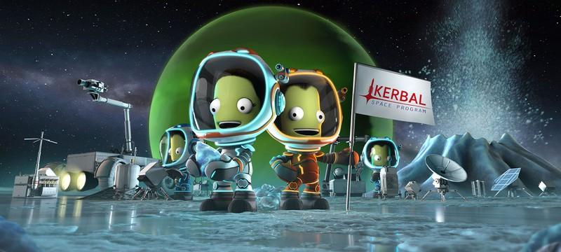 Версии Kerbal Space Program для PS5 и Xbox Series выйдут этой осенью