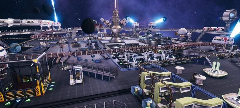Строительство колоний на астероидах в трейлере сурвайвала Astro Colony
