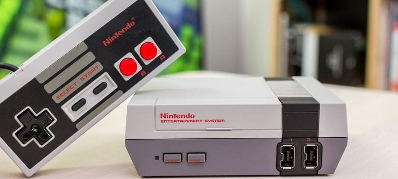 Nintendo не бросила идею по выпуску классических консолей в Mini-формате