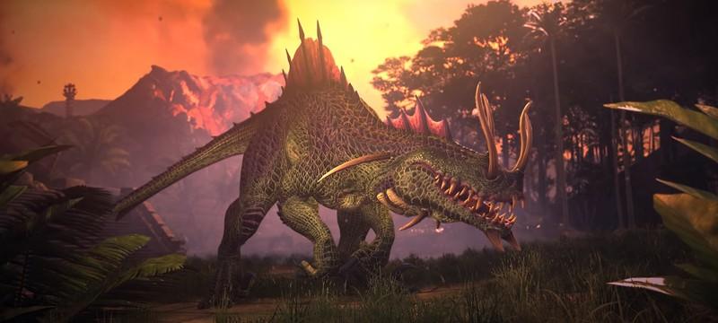 Умения Троглодона и Бармазмея в роликах Total War: Warhammer 2