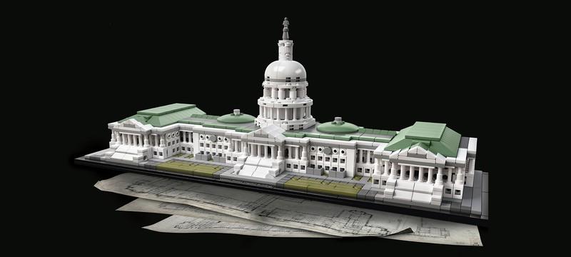 ФБР изъяло модель Капитолия из Lego у одного из арестованных захватчиков здания