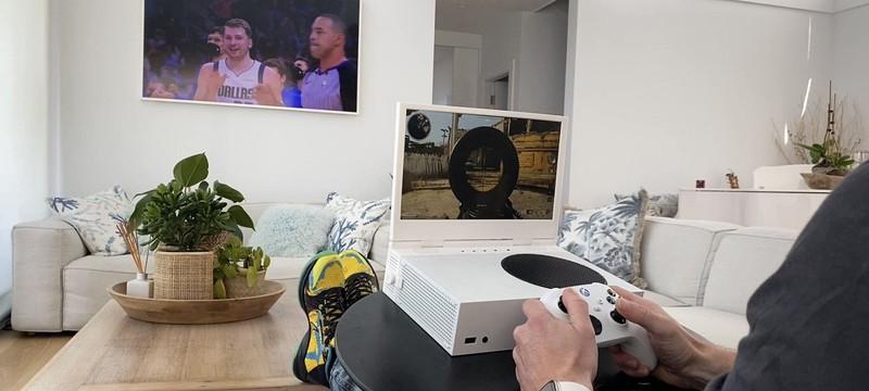 Портативный экран xScreen для Xbox Series S профинансировали на Kickstarter за 20 минут