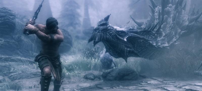 Игрок Skyrim пожаловался на мертвого дракона — его труп перегородил вход в дом
