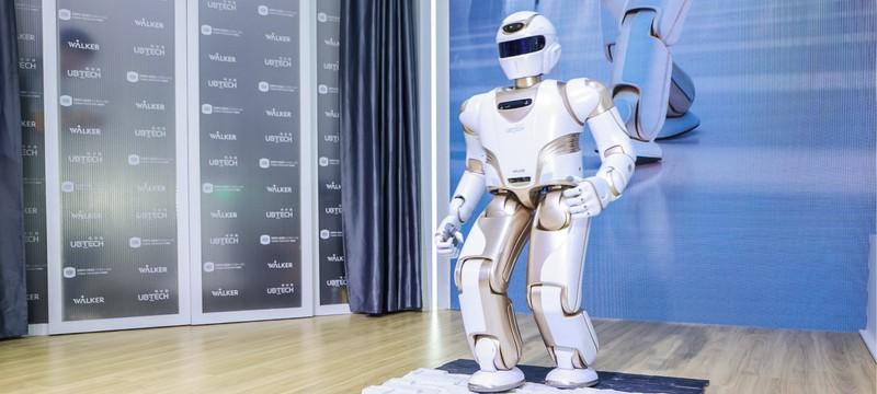 Китайская компания показала человекоподобного робота-помощника Walker X