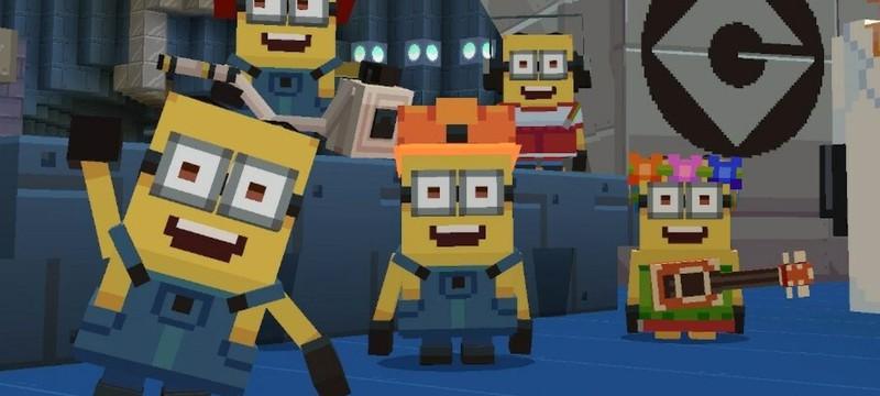 """Для Minecraft вышло дополнение с миньонами и Грю из """"Гадкий я"""""""