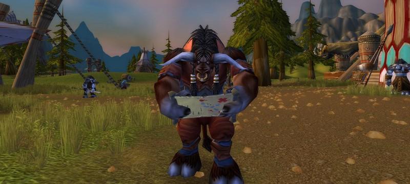 Фанат нарисовал карту американских штатов в стиле World of Warcraft Classic