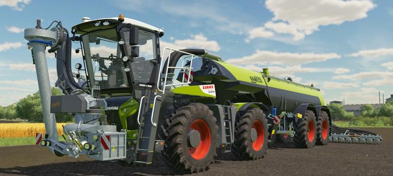 Первый геймплей Farming Simulator 22