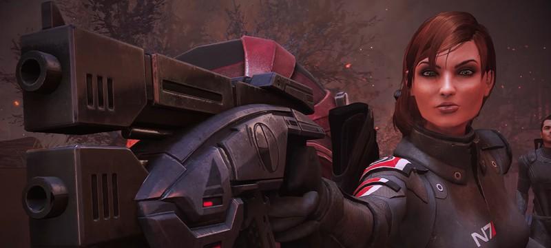Лучший графический мод для оригинальной трилогии Mass Effect стал совместим с Legendary Edition