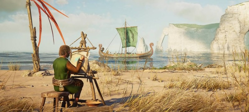 "Карл Толстый на первых кадрах дополнения ""Осада Парижа"" для Assassin's Creed Valhalla"