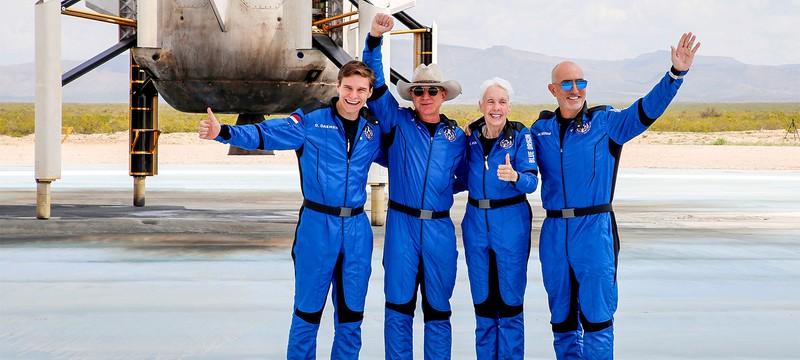 Джефф Безос и Ричард Брэнсон не признаны астронавтами согласно новым правилам