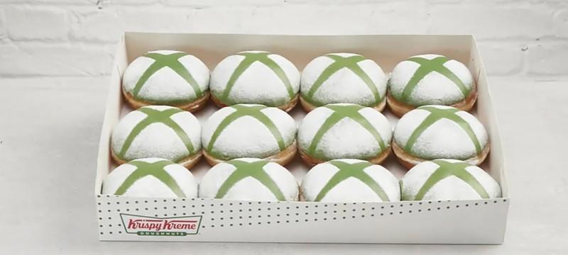 Сеть кофеен Krispy Kreme представила пончики с логотипом Xbox