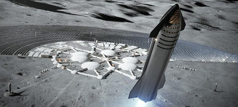 Лунный посадочный модуль NASA точно будет делать SpaceX