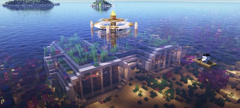Игроки Minecraft хвастаются своими эпичными морскими базами