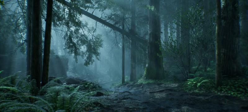 Энтузиаст показал реалистичный тропический дождь на Unreal Engine 5