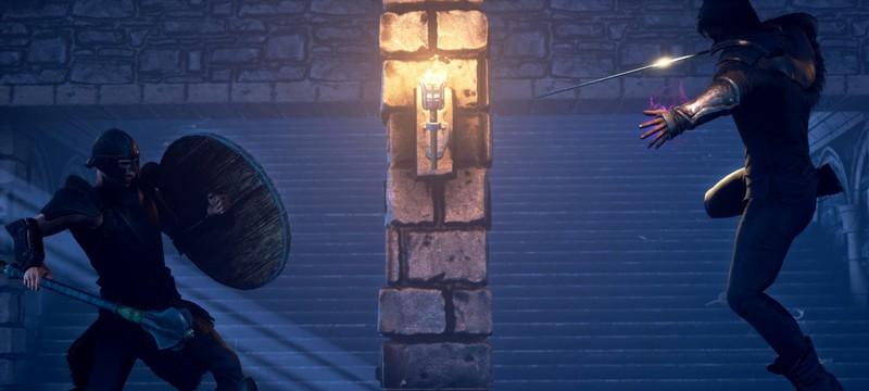 Сражения, магия и мрачный мир в трейлере RPG Stormrite