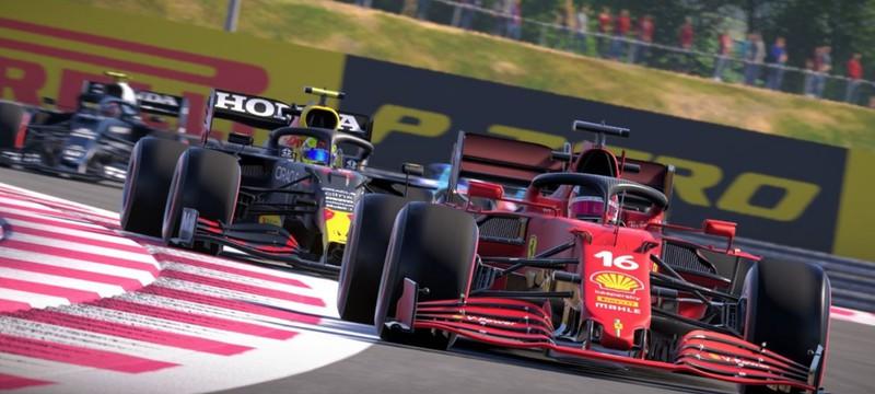 UK-чарт: F1 2021 удерживает лидерство