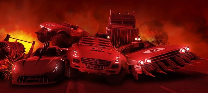 Для Wreckfest вышло обновление с элементами из Carmageddon