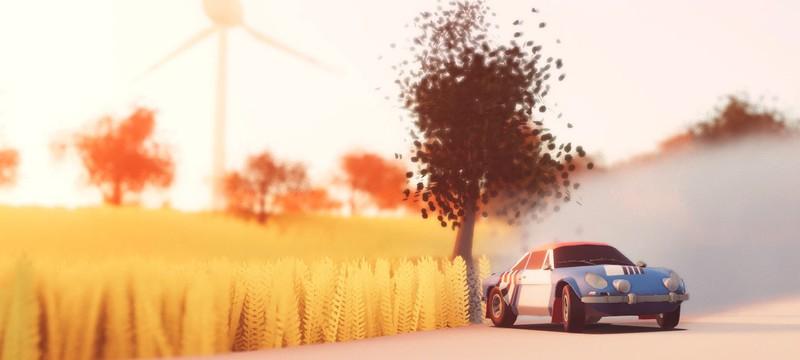 Минималистичная аркада Art of Rally выйдет на Xbox и Switch на следующей неделе