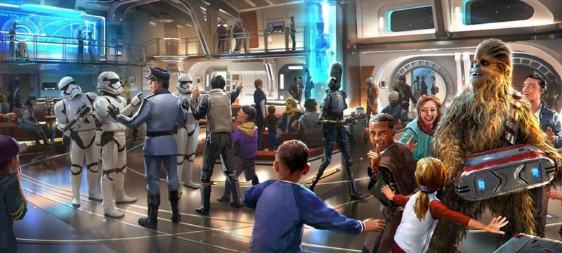 """В следующем году Disney откроет тематический отель по """"Звездным войнам"""""""