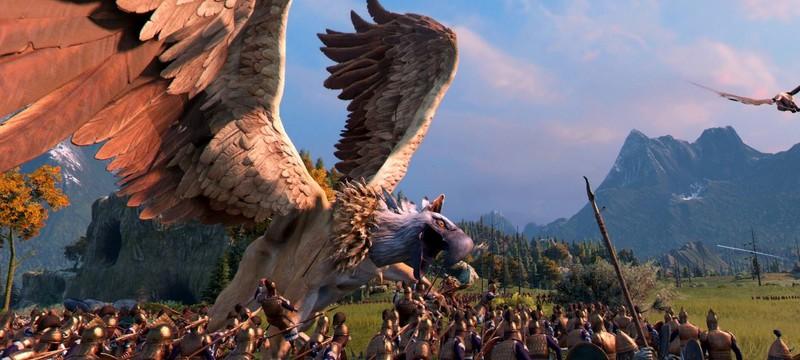 В новом трейлере дополнения Mythos к Total War Saga: Troy показали грифонов