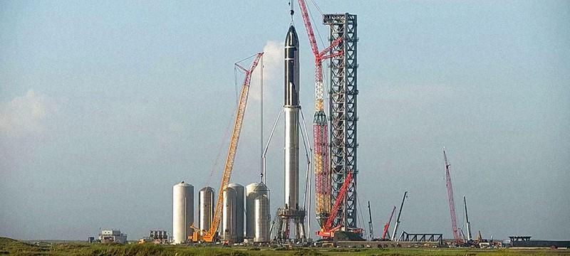 Илон Маск показал Starship в полный рост — сегодня это самая большая ракета в мире