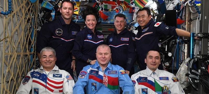 Астронавты показали, как будет выглядеть Олимпиада в космосе