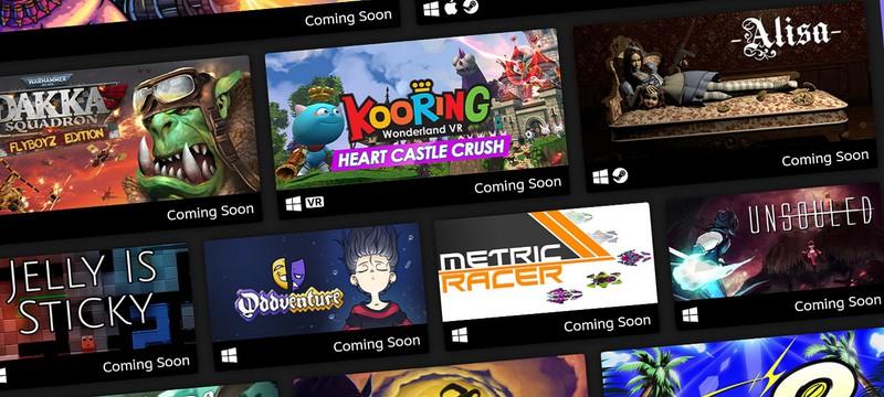 Valve: Игры из Steam Next Fest 2020 добавляли в список желаемого на 421% чаще