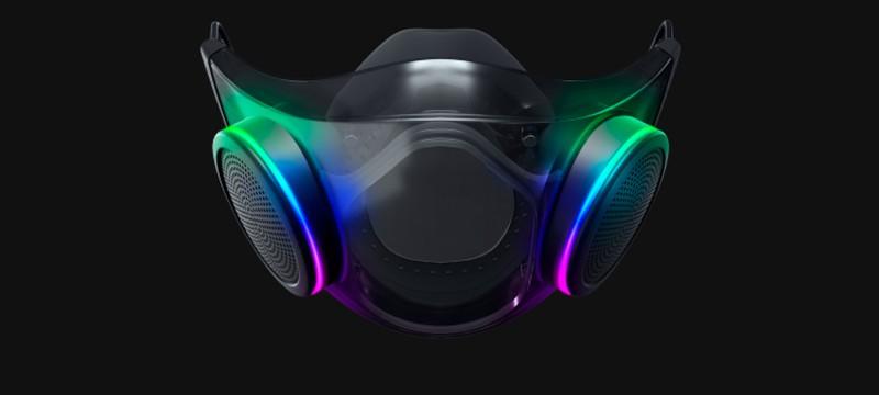 Razer скоро начнет открытый тест масок с подсветкой