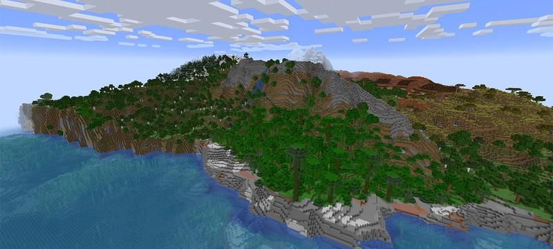 В Minecraft 1.18 добавят еще один горный биом