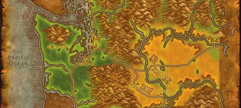 Фанат World of Warcraft продолжает рисовать карты американских штатов в стиле игры