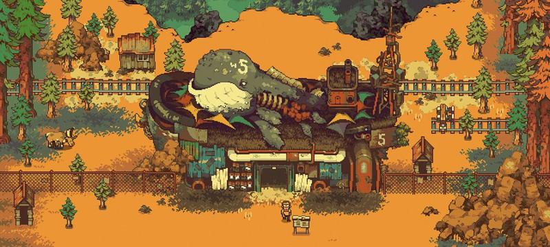 Атмосферный пиксельный мир в новом трейлере RPG Eastward