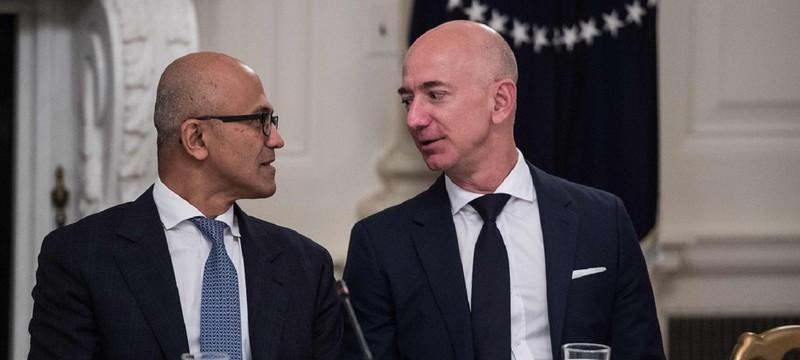 Microsoft оспорила многомиллиардный контракт американского правительства с Amazon