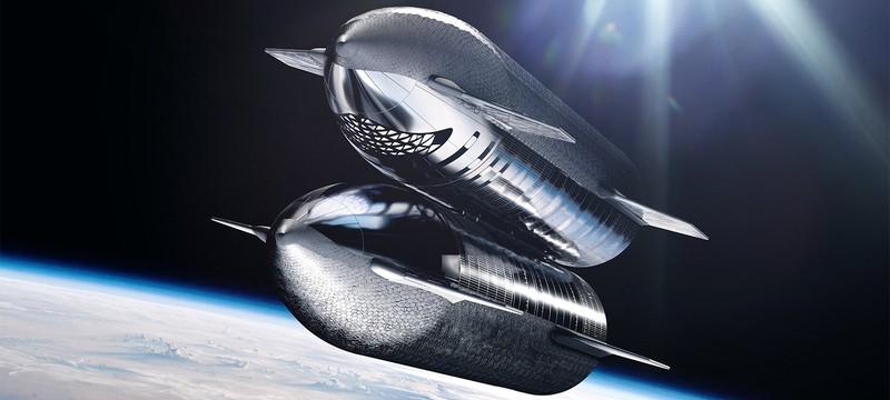 """Как будет выглядеть """"перезарядка"""" ракет Starship"""