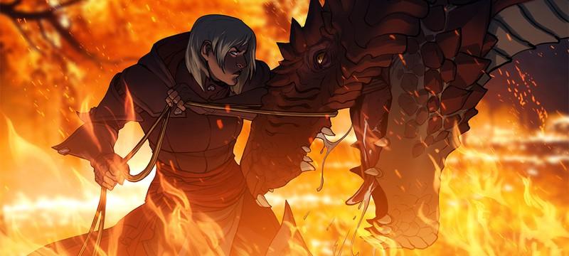 Драконы в Dragon Age Origins появились после того, как игре придумали название