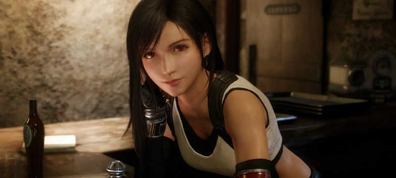Художники представили Тифу из Final Fantasy VII с короткими волосами