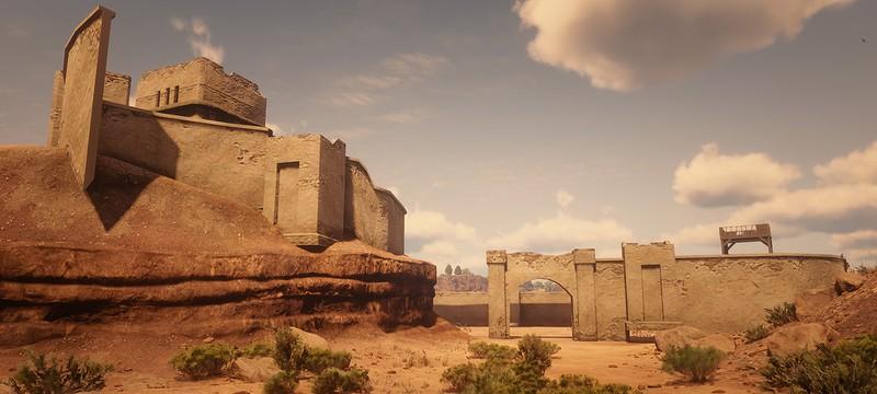 Моддер воссоздаёт в Red Dead Redemption 2 часть Мексики из первой части
