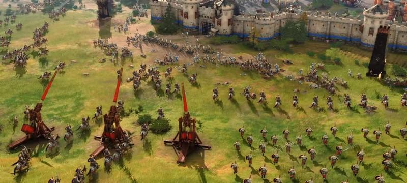Важность требушетов в новом трейлере Age of Empires 4