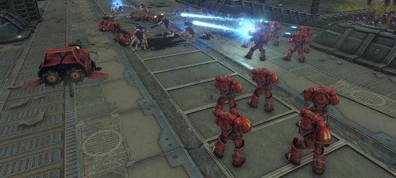 Разработчики Warhammer 40К: Battlesector пообещали добавить новые фракции и систему прогрессии