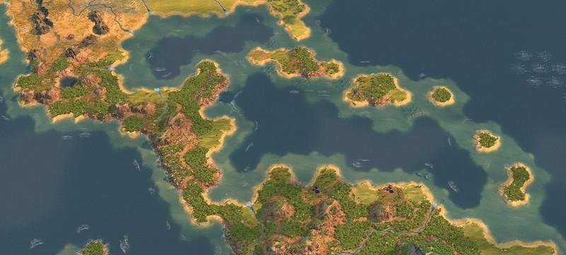 Моддер создал большую карту Земли для Humankind