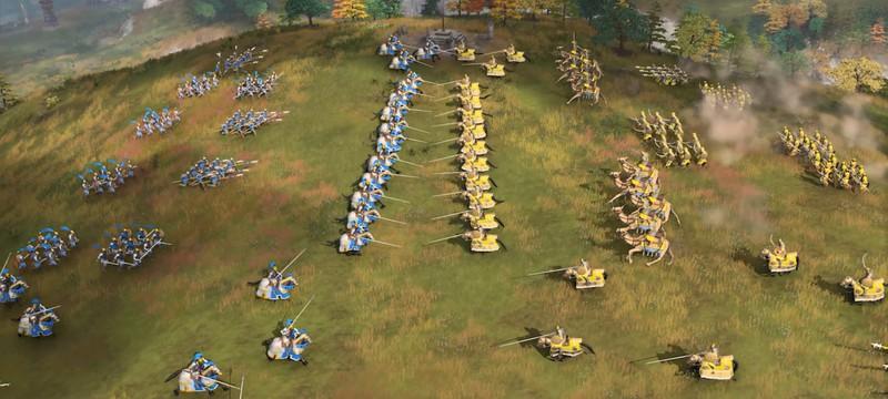 Частокол и первая артиллерия в трейлерах Age of Empires 4