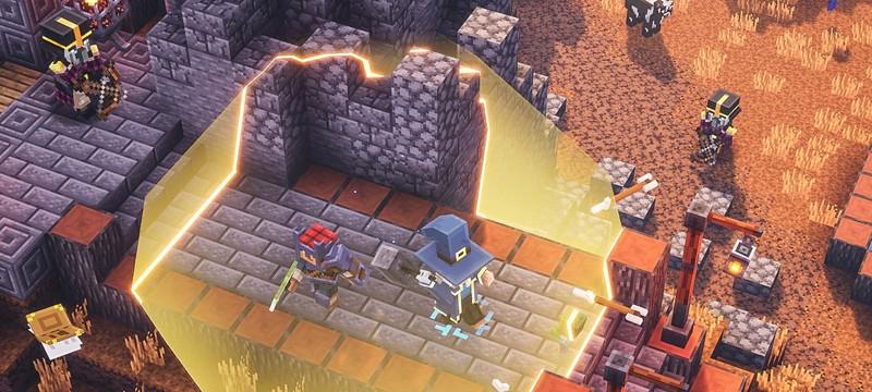 Minecraft: Dungeons выйдет в Steam в сентябре