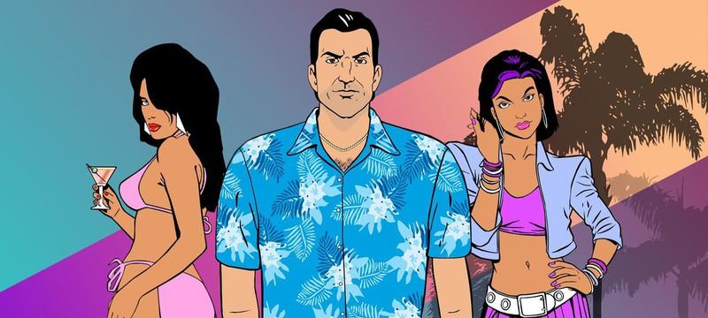 Как выглядит фанатский ремастер GTA: Vice City в 4K и на основе GTA V