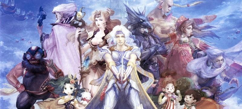 Пиксельный ремастер Final Fantasy IV выйдет в сентябре