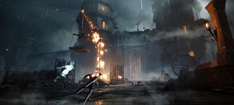 Мрачный мир и быстрые сражения в трейлере и геймплее Soulstice